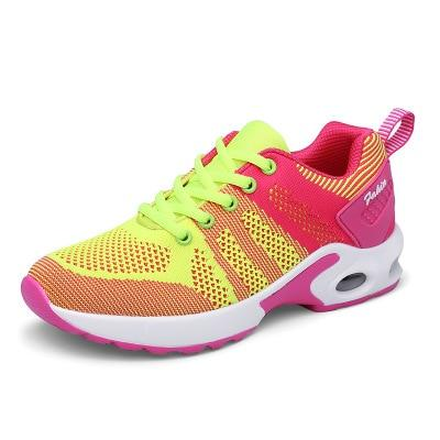 new fashion breathable mesh women running sneakers