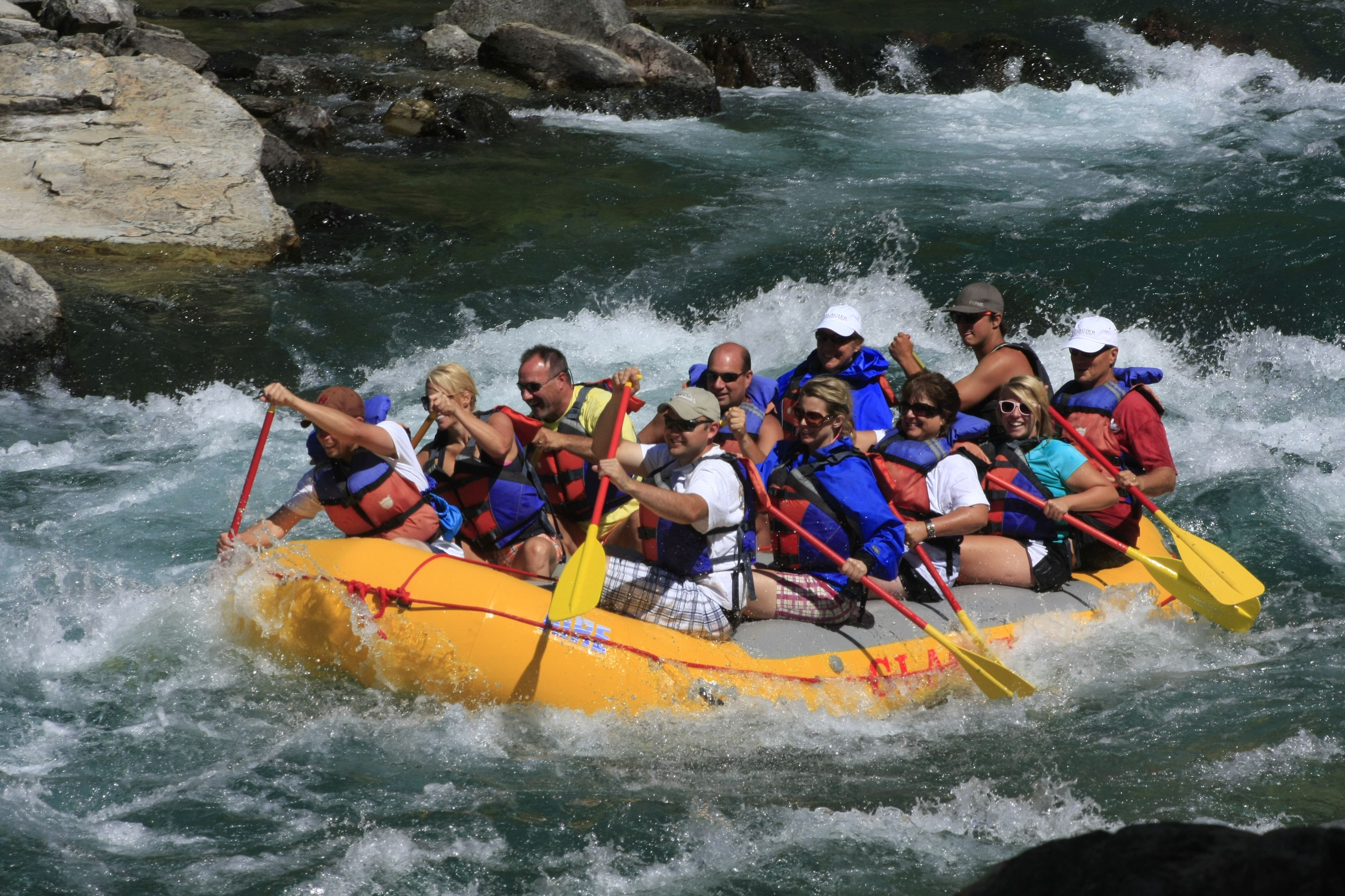 White Water Rafting Colorado River Near Las Vegas