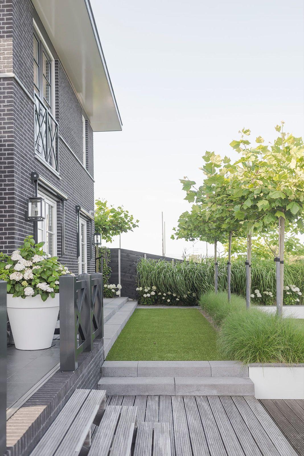 Buytengewoon villatuin almere hoog exclusieve woon en for Ideas para el patio trasero