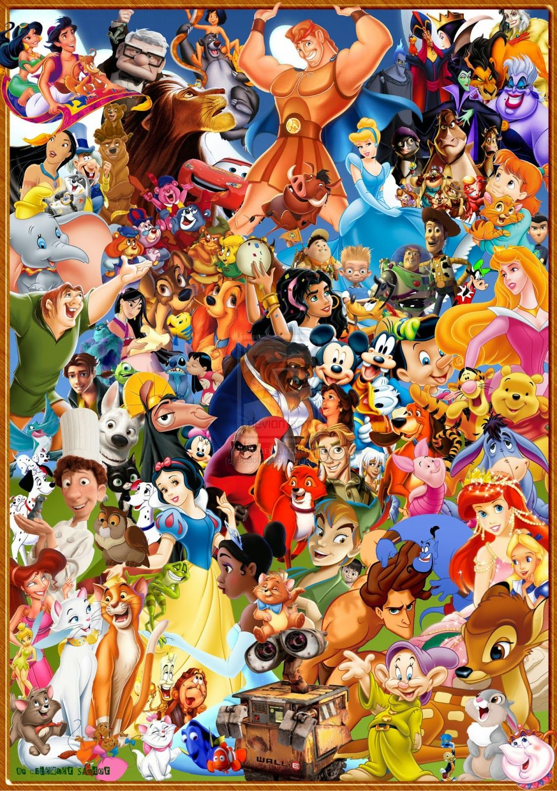 Shivayya A With Images Disney Collage Disney Drawings Disney