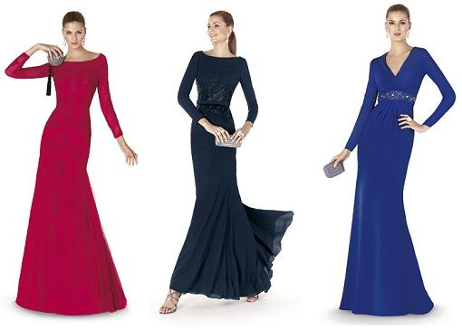 2bf27d305 vestidos de fiesta manga larga para gorditas - Buscar con Google ...