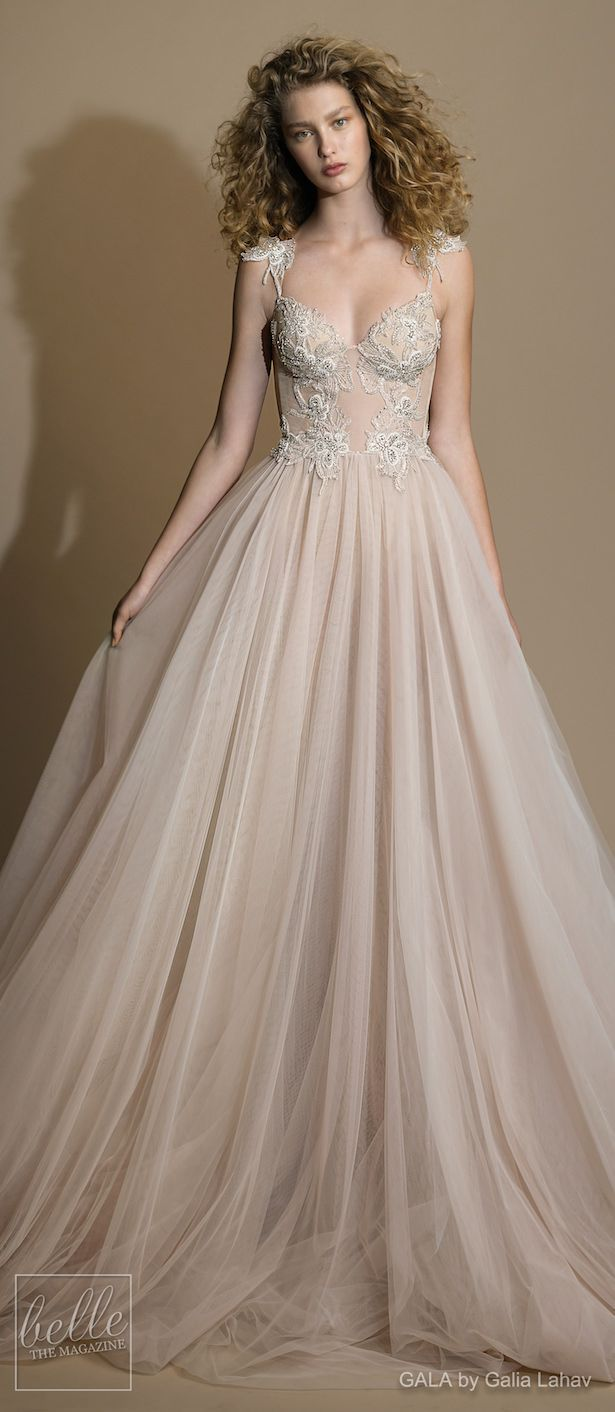 Blush wedding dress by gala by galia lahav collection no vi