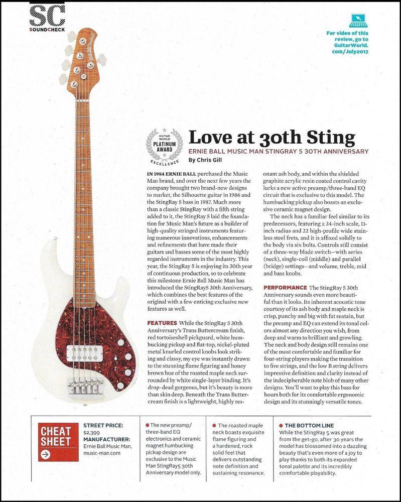 Pin On Ernie Ball Strings Music Man Guitar Ad Prints Advertisements