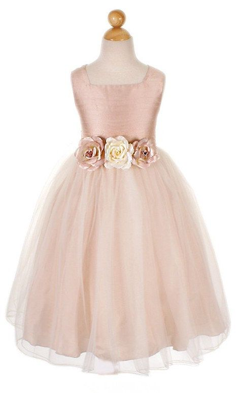 9aff34b4179 Blush Flower Girl Dress! Come to Davison Bridal in Davison