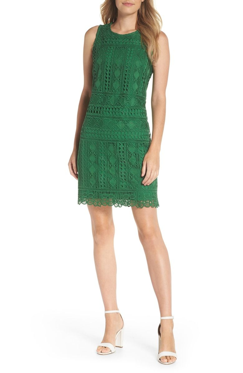 Free Shipping And Returns On Vince Camuto Lace Sheath Dress