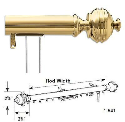 curtain rods and finials 15 brass decorative traverse rod windsor multiple