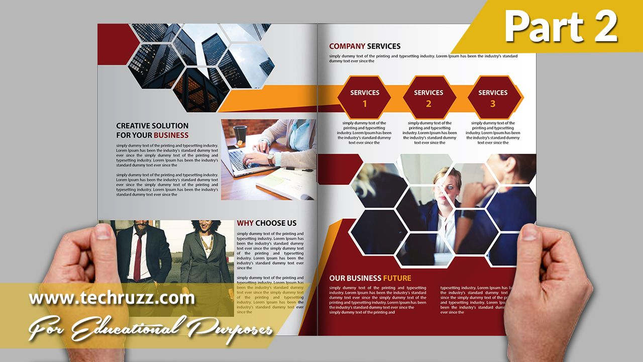 How To Design Or Create A Bi Fold Brochure In Illustrator Cc Cs6 Cs5 Tutorial Part 2 How To Create A How To Make Brochure Bi Fold Brochure Brochure Design