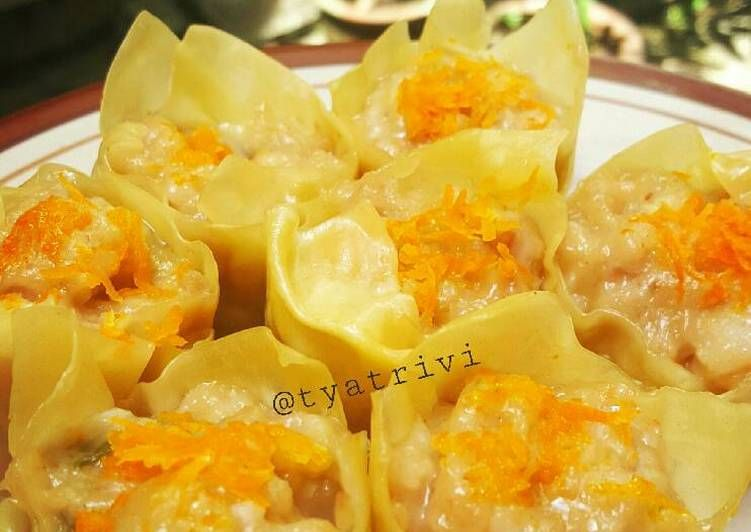 Resep Siomay Ayam Dimsum Oleh Tya Trivi Resep Puding Saus Sambal Rebusan