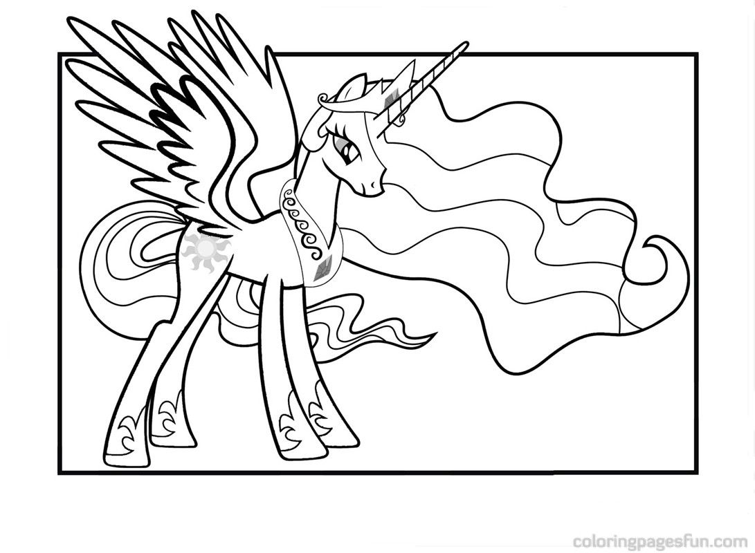new princess celestia coloring pages free printable coloring pages coloringpagesfuncom