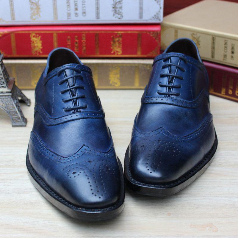 Pin by Grgomg17 on Best Boss Shoes Dress shoes men, Blue