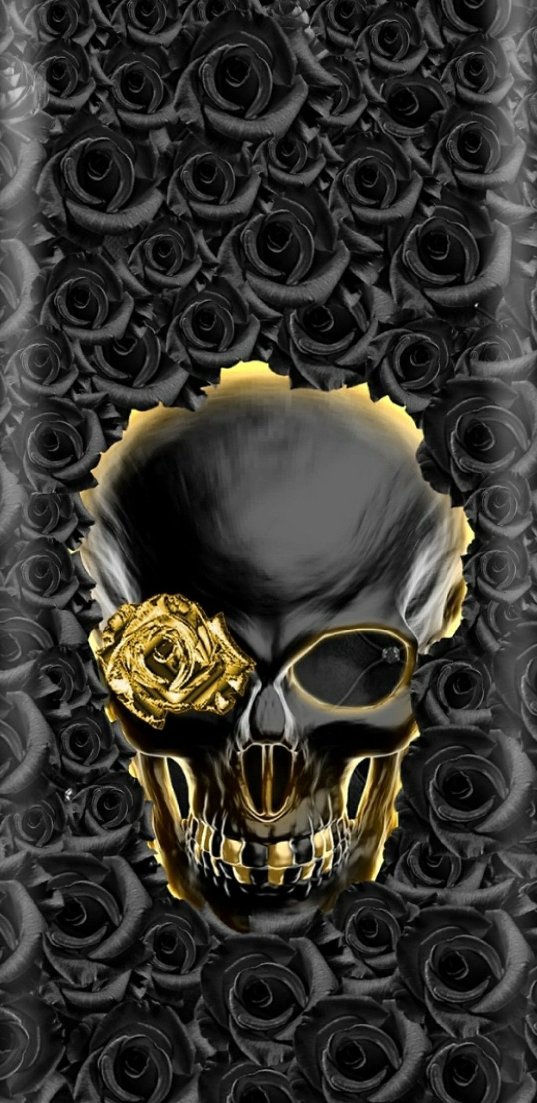 Cool Skull Lock Screen Wallpaper