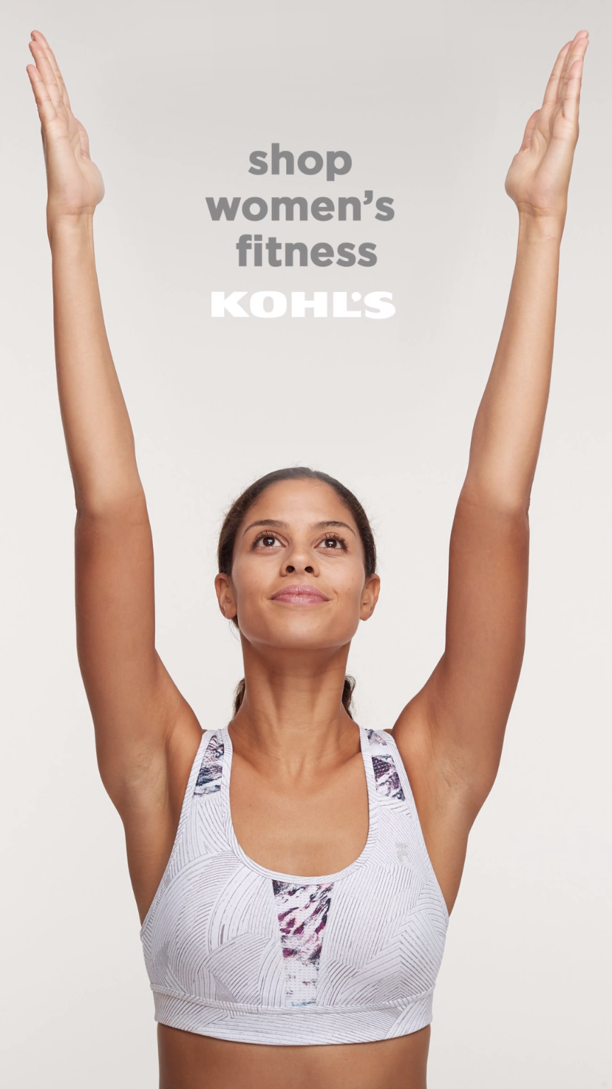 0680412a8646 Find fitness gifts for her at Kohl s. From sneakers and leggings to sports  bras