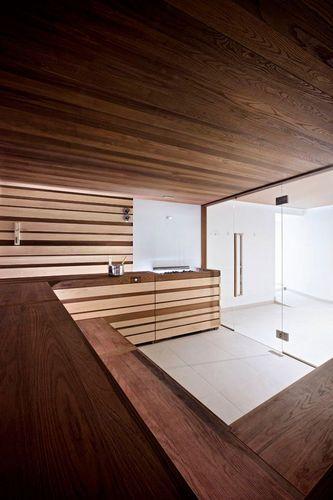 Sauna Finlandesa Sweetsaunapro Vision By Cristiano Mino Starpool