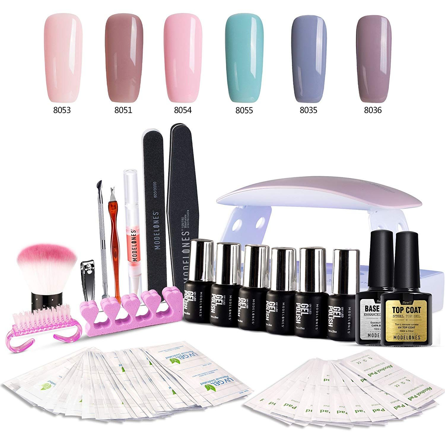 how to apply gel polish without uv light