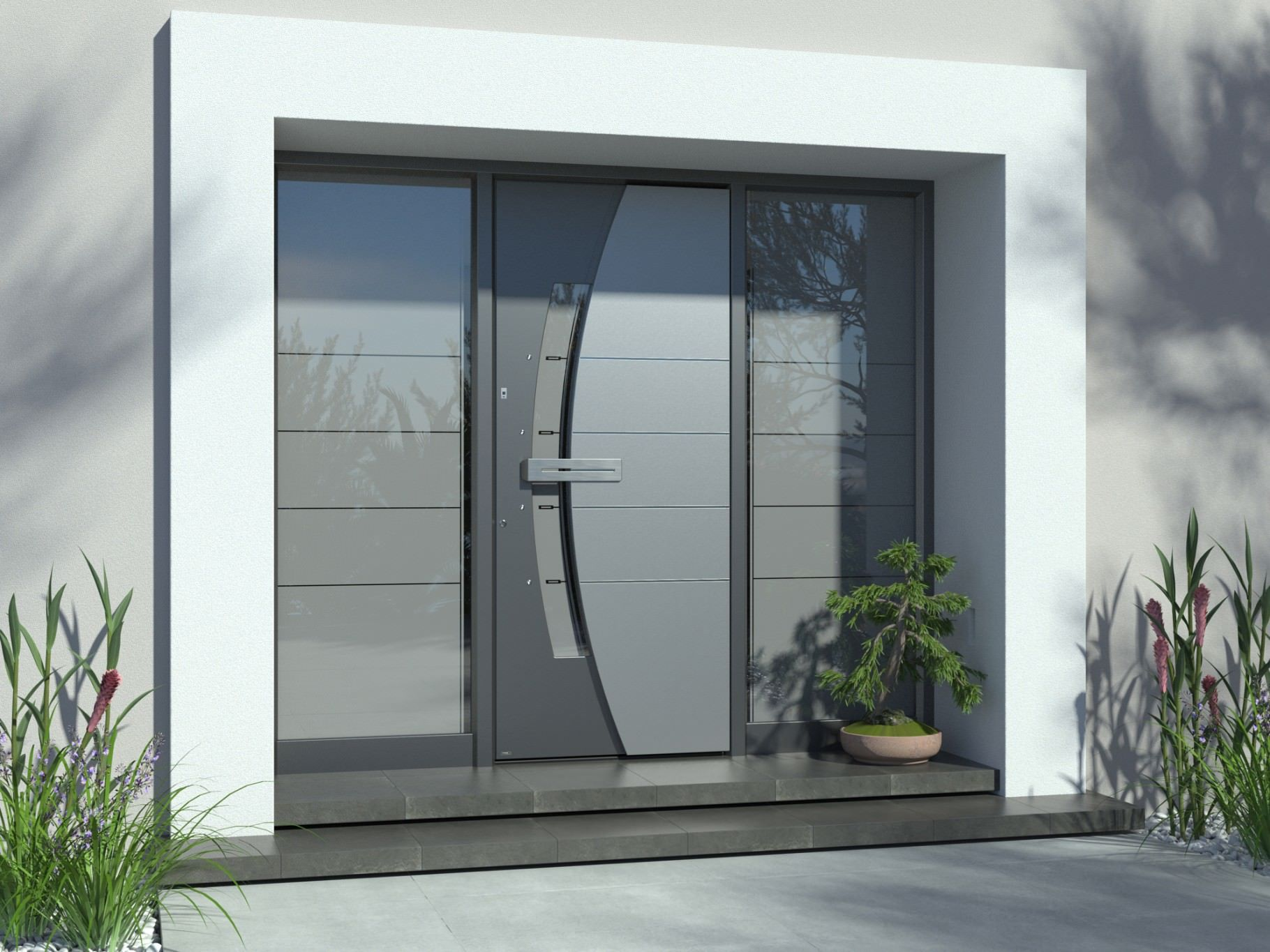 Majestic multilevel aluminium doors | PIRNAR