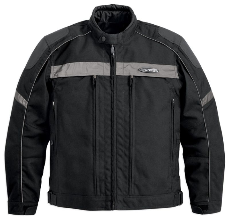 harley davidson men s fxrg textile jacket with pocket. Black Bedroom Furniture Sets. Home Design Ideas