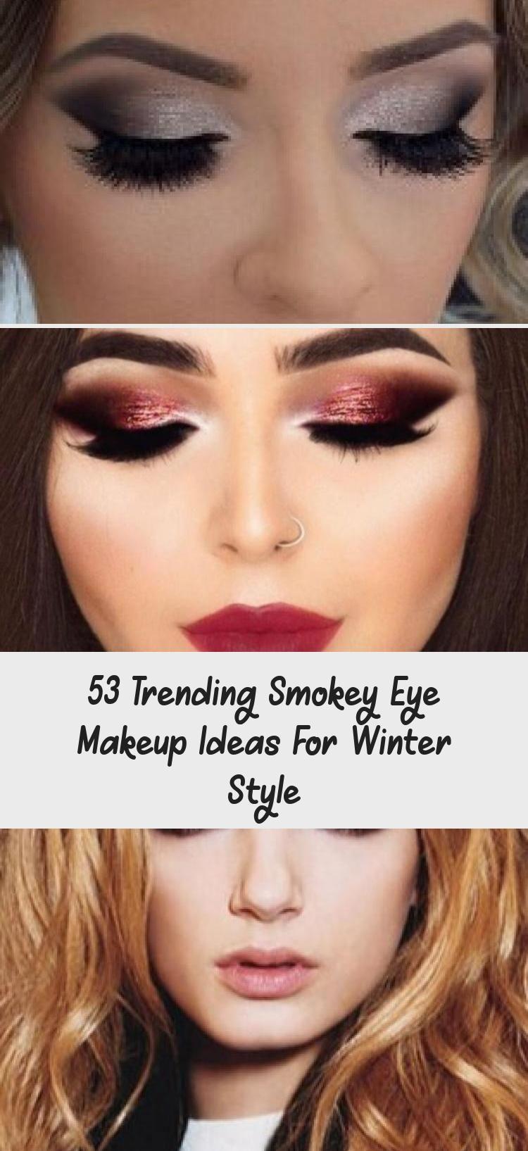 53 Trending Smokey Eye Makeup Ideas For Winter Style Eye Makeup