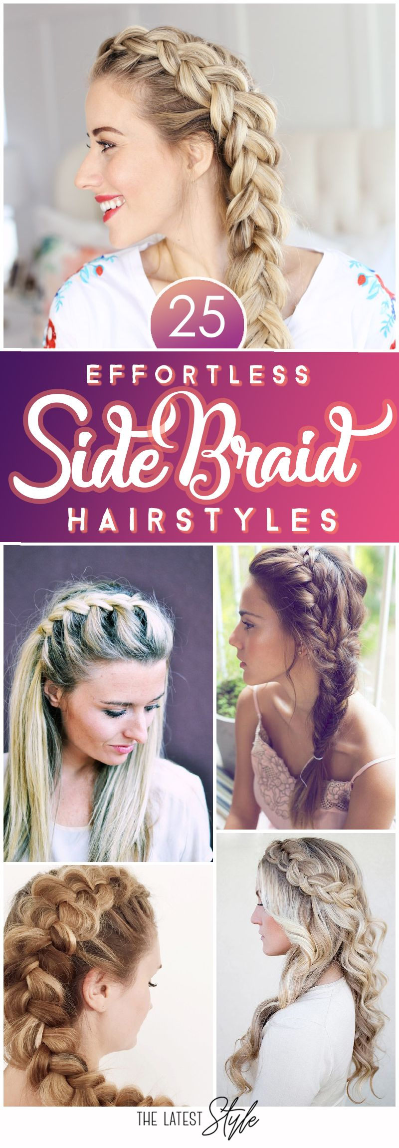 effortless side braid hairstyles to make you feel special cute