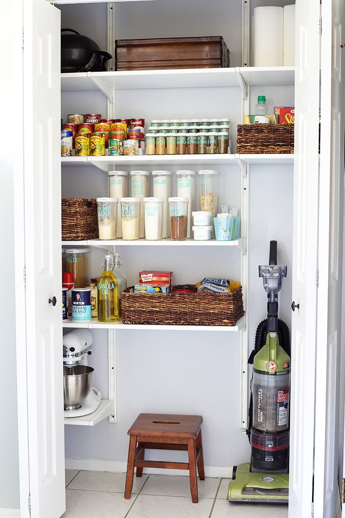 20 Incredible Small Pantry Organization Ideas and Makeovers Pantry