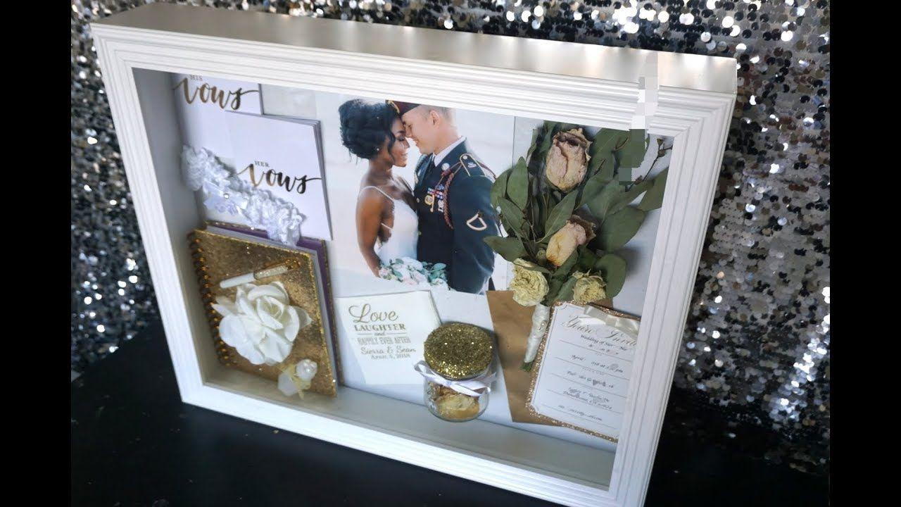 DIY Shadow Box Wedding Day Memories Wedding shadow