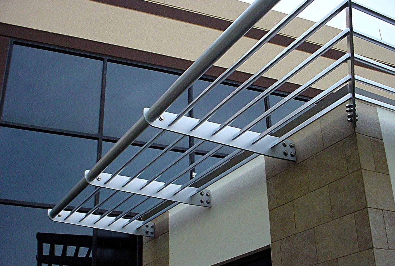 House window sunshade design  aluminum sunshades custom designed to your building made from
