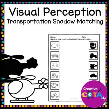 Visual Perceptual Transportation Shadow Matching Best Of TPT