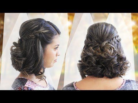 Videos de peinados para cabello corto recogido