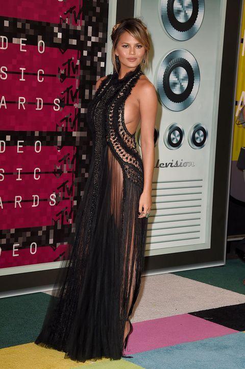 Naked Celebrities Fashion - See Through Dress Photos