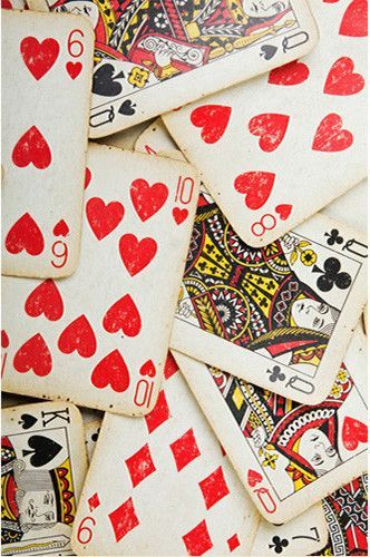 Playing Cards King Queen Of Hearts Backdrop 456 Queen