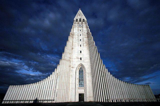 Hallgrímskirkja (or Church of Hallgrímur if you will) in Iceland's capital Reykjavík