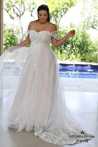 Wedding dress with pockets plus size oleg cassini, Best ...