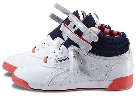 b95d94c0 Reebok Women's Freestyle Hi R12 Shoes | Official Reebok Store ...