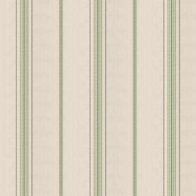Green Burlap-Style Stripe Fabric | Burlap of Luxury Fairway | Loom Decor