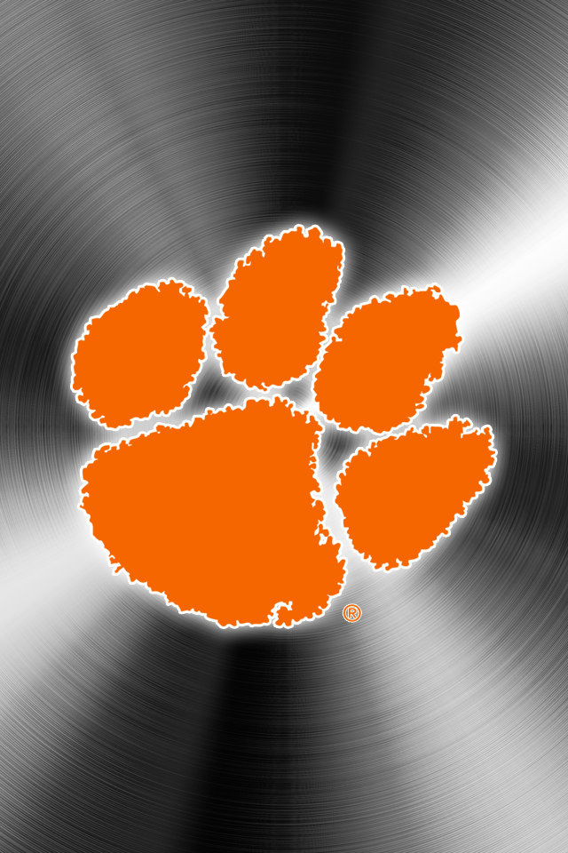 Set Of 24 Clemson Tigers Iphone Wallpapers Clemson Tigers Wallpaper Clemson Wallpaper Clemson