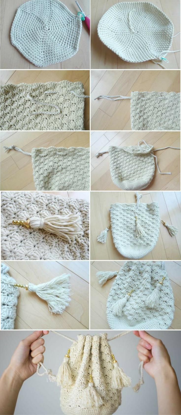 Crochet Regency Reticule - pattern and photo tutorial | Maggie\'s ...