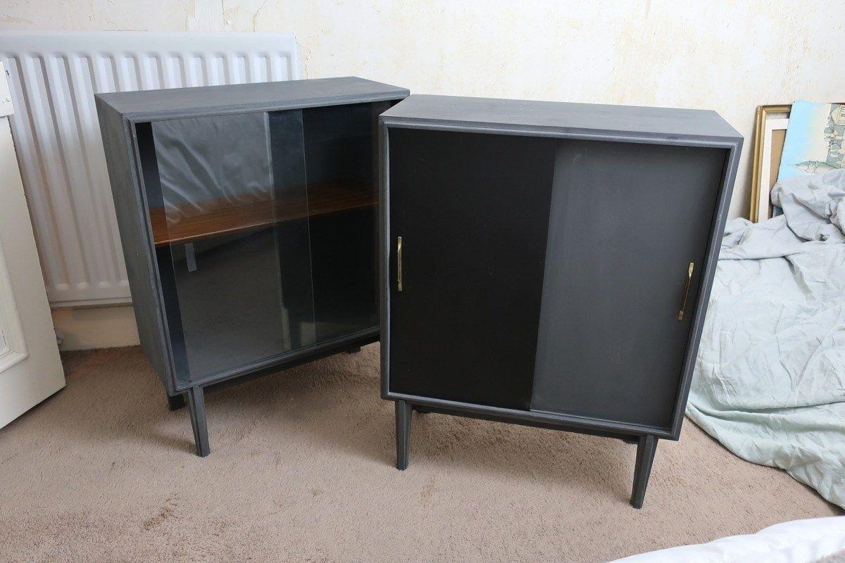 Hack! Ikea Pax wardrobe and DIY West Elm bedside tables