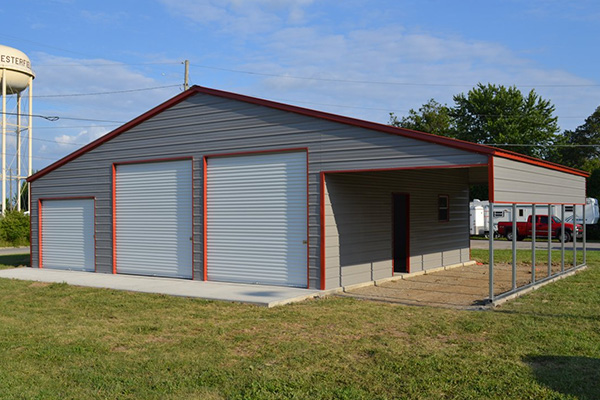 Metal Barns | Wholesale Direct Carports | All steel ...