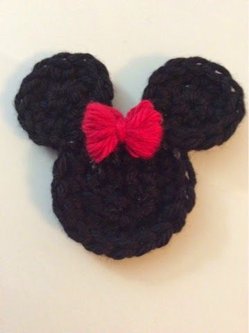 Little Luvies Shop: Free Min Mouse Appliqué/Pin Pattern, New ...