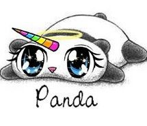 Inspiring image cute, drawings, panda, rainbow, sweet, unicorn, ❤️, panda corn #2130004 by marky - Resolution 306x306px - Find the image to your taste