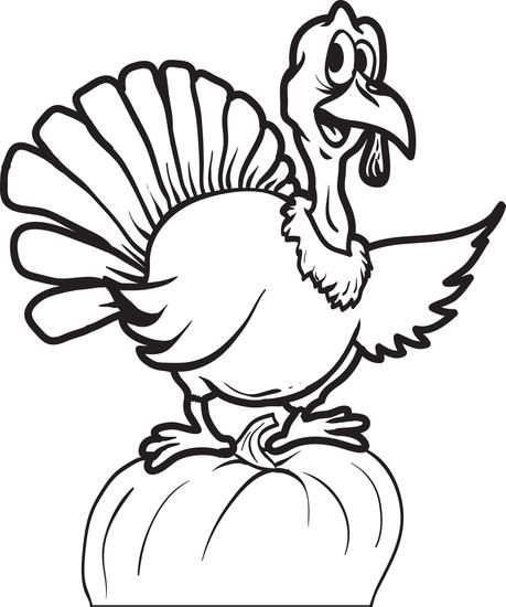 Free Printable Thanksgiving Turkey Coloring Page For Kids Turkey