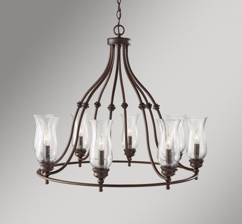 lt nickel seeded satin glass zoom item image chandelier industrial product