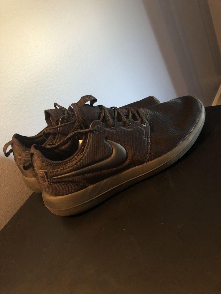 100% authentic 52971 a4d9e Nike Roshe Two Triple Black | Size 12 #fashion #clothing ...
