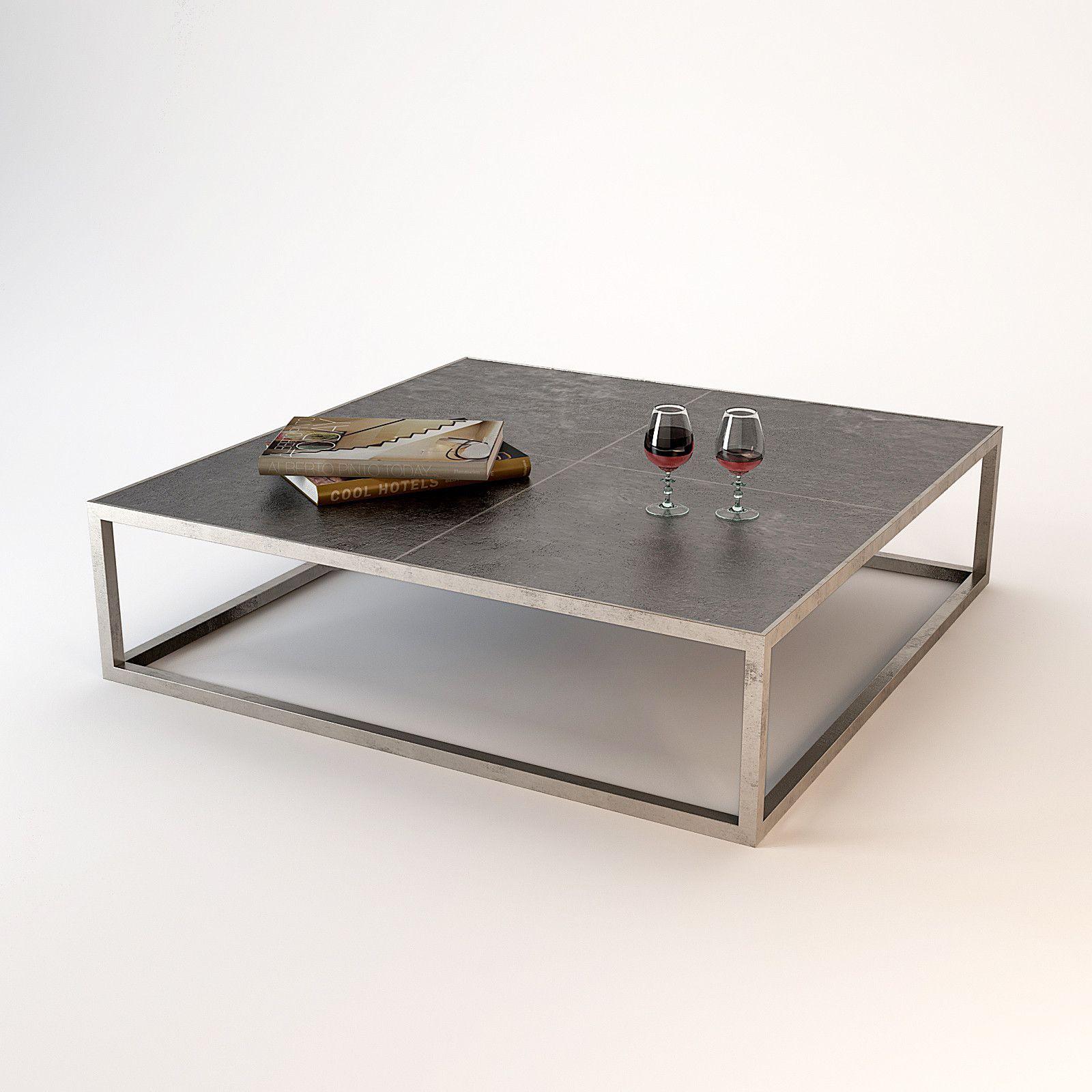 Trinity Baxter Journal Table 3D Max  3D Model