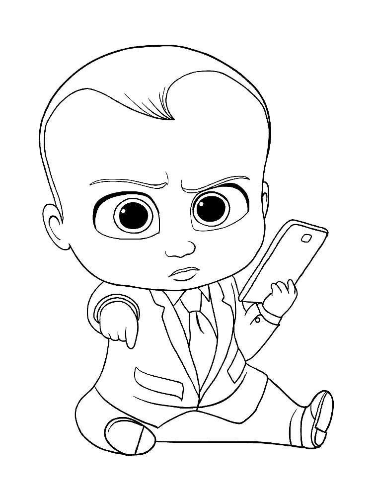 Kartinki Po Zaprosu Boss Molokosos Raskraska Baby Coloring Pages Baby Drawing Boss Baby