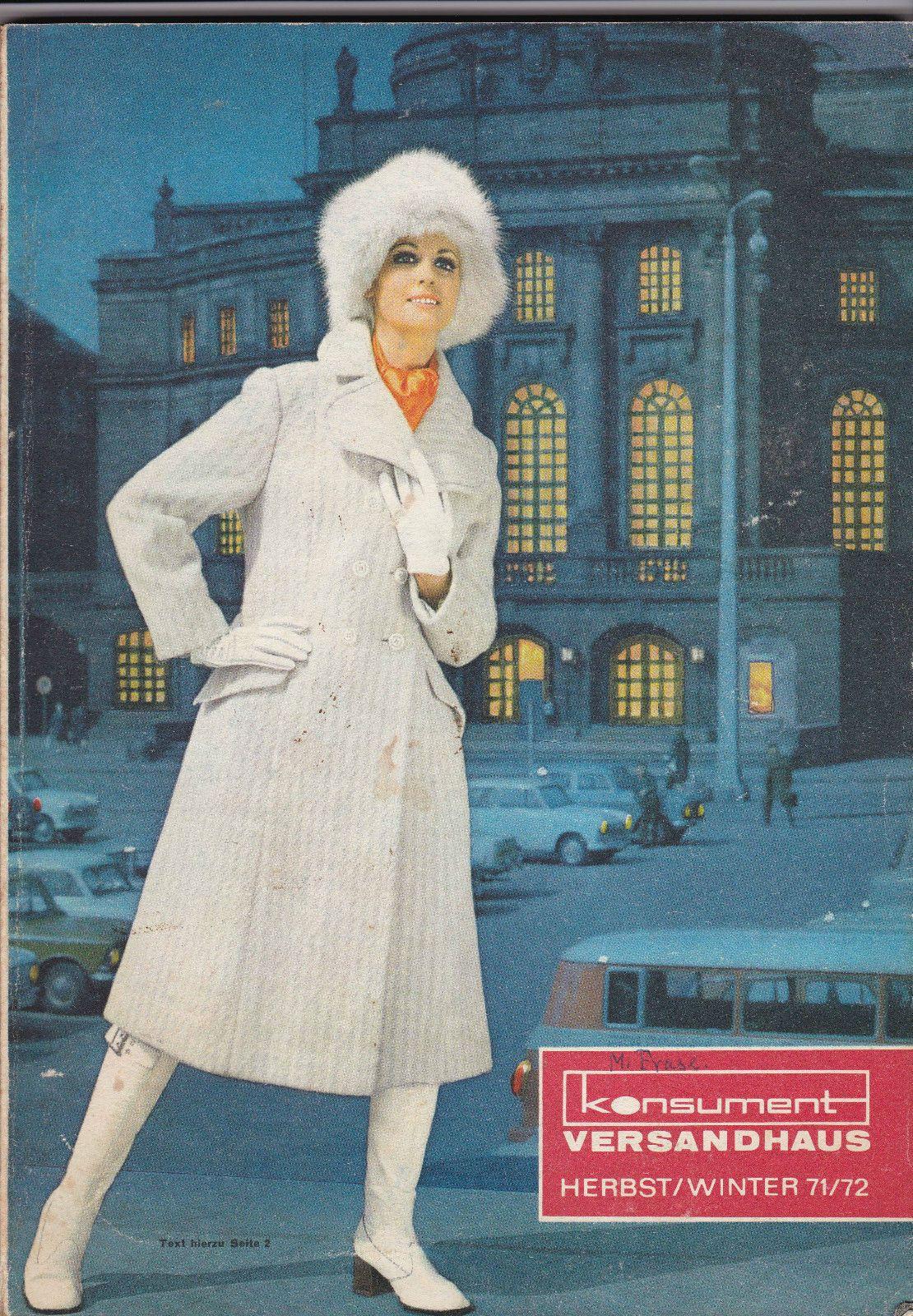 9f517ee4df73b1 KONSUMENT Versandhaus Katalog - (Karl-Marx-Stadt) #DDR-  Herbst/Winterkatalog von 1971/72 ---- KONSUMENT mail order catalog -  fall/winter season 1971/72 ...