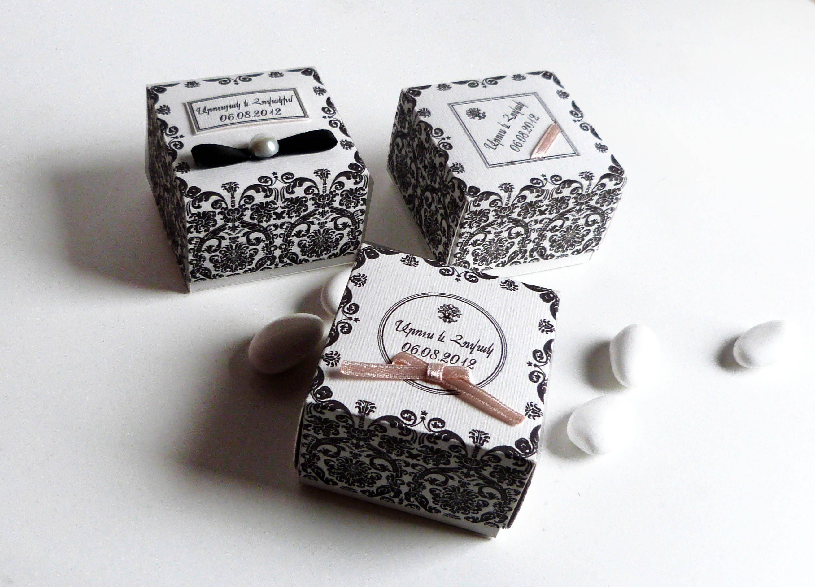 Personalized favors boxes, Elegant wedding favors,Wedding favors ...