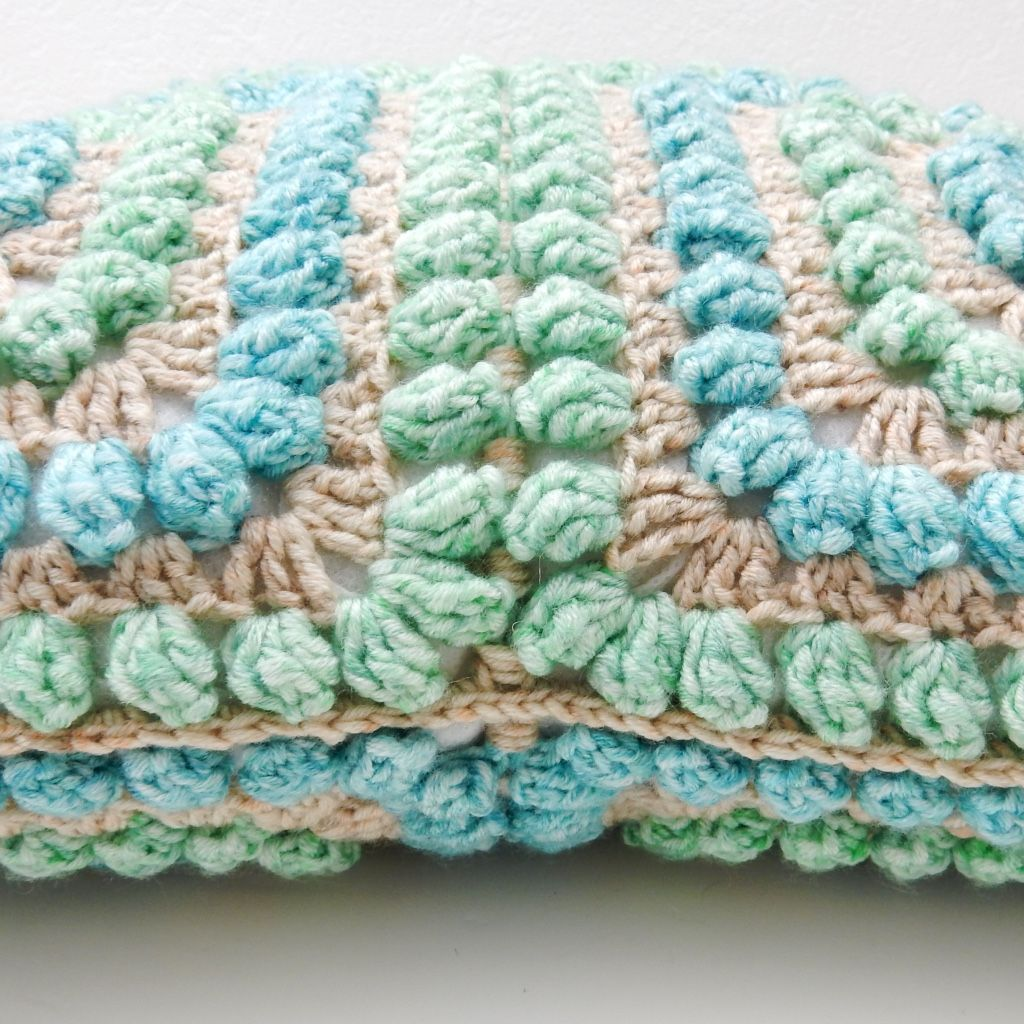 Popcorn Cushion Cover Free Crochet Pattern | HOME DECOR | Pinterest ...