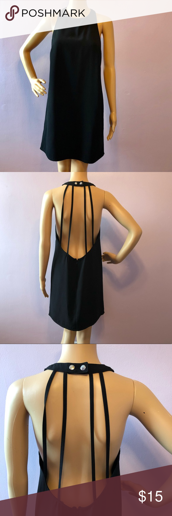 Forever 21 Black Flare Mid Sleeveless  Dress Large All measurements are flat lay; Waist 16 Shoulder to bottom 33 100% Polyester Gently Used Item#D036 *Accepting reasonable offers Forever 21 Dresses Midi #blacksleevelessdress