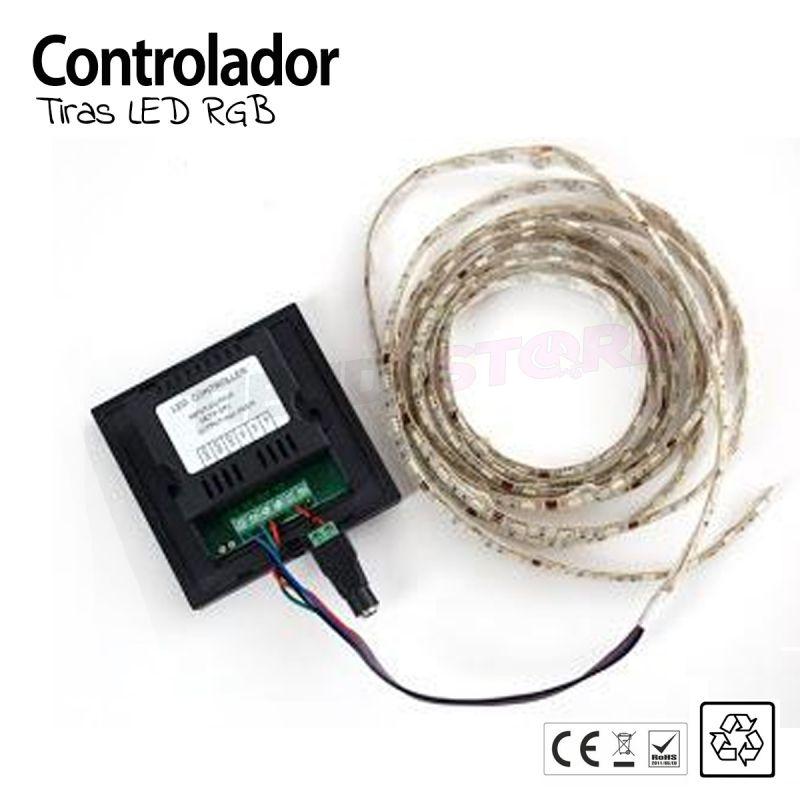 Controlador TACTIL pared para tiras LED  #LED #controladorled #tiraledwifi #ledwifi