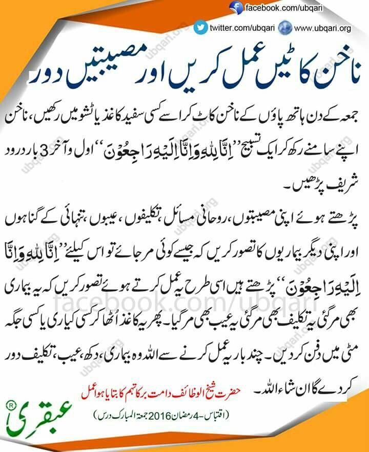 Nails Ka Wazifa (With Images)